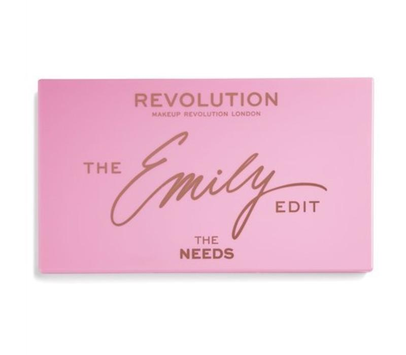 Makeup Revolution x The Emily Edit – The Needs Palette