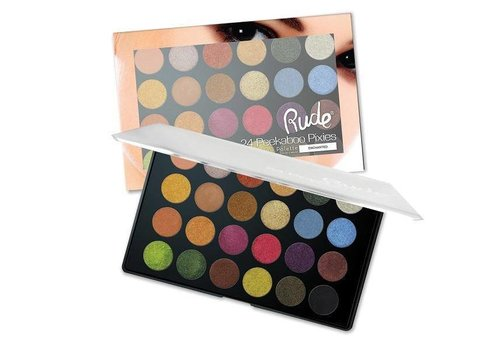 Rude Cosmetics Peekaboo Pixies Eyeshadow Palette Enchanted