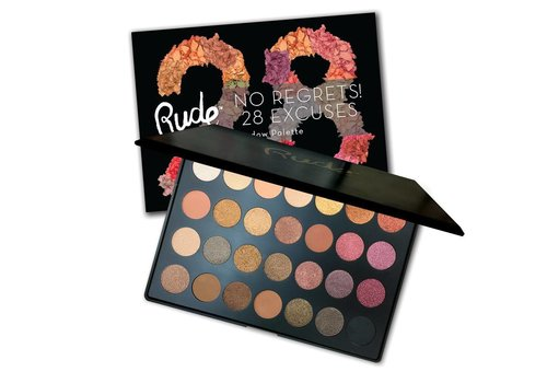 Rude Cosmetics 28 Excuses Eyeshadow Palette Scorpio