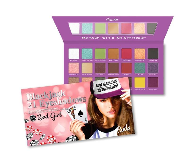 Rude Cosmetics Blackjack Eyeshadow Palette Bad Girl