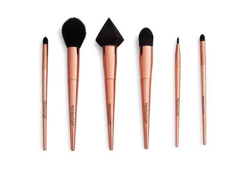 Makeup Revolution Reloaded Rose Gold Brush Set