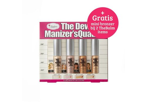 TheBalm The Dew Manizer Squad