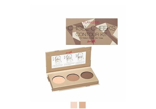 Barry M Chisel Cheeks Contour Kit