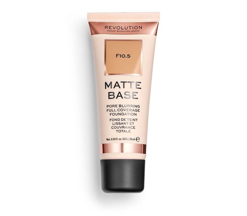 Makeup Revolution Matte Base Foundation F10.5