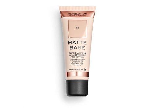 Makeup Revolution Matte Base Foundation F2