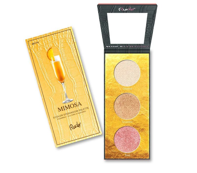 Rude Cosmetics Cocktail Party Luminous Highlight Palette Mimosa