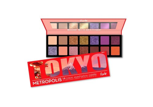 Rude Cosmetics Metropolis Tokyo Eyeshadow Palette