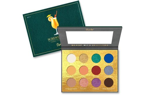 Rude Cosmetics Cocktail Party Eyeshadow Palette Screwdriver