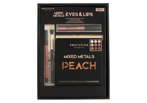 Profusion Mixed Metals Eyes & Lips Peach