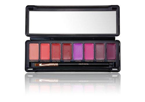 Profusion Pro Lip Tin Lipstick Palette Plum