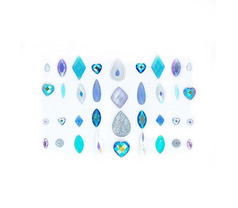 Lunautics Face Gems Unicorn Mix Pack