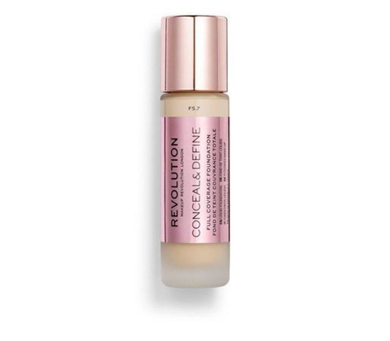 Makeup Revolution Conceal & Define Foundation F5.7