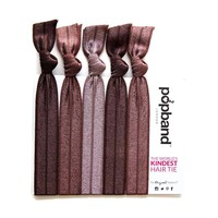 Popband London Hair Tie Cocoa
