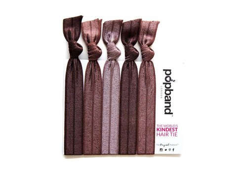 Popband London Hair Tie Cocoa