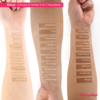 Milani Conceal & Perfect 2-in-1 Foundation and Concealer Spiced Almond