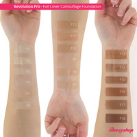 Revolution Pro Full Cover Camouflage Foundation F8