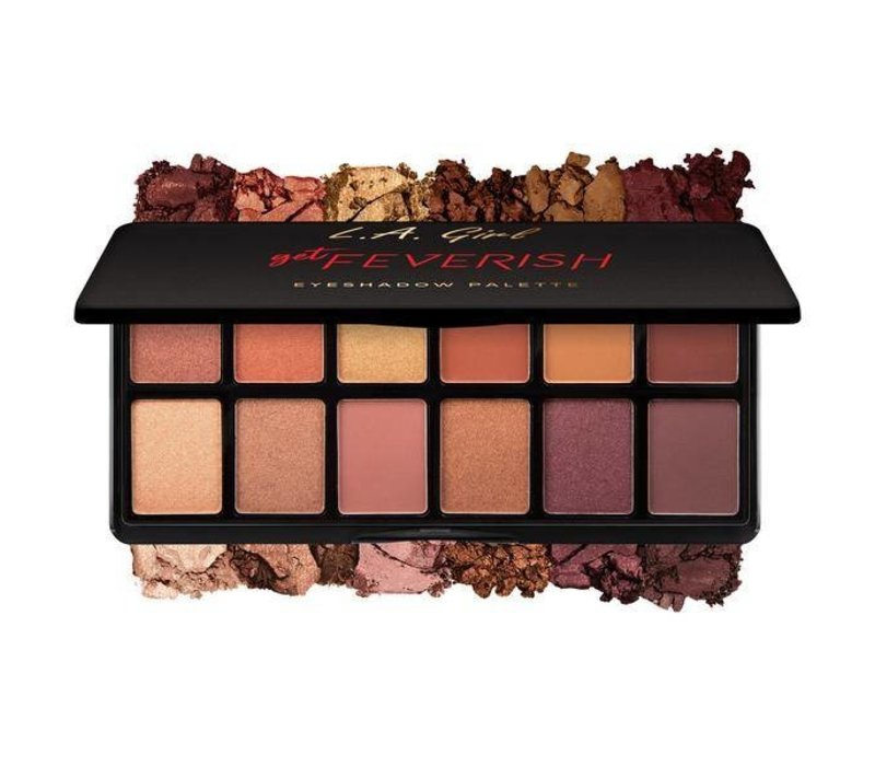 LA Girl Fanatic Eyeshadow Palette Get Feverish