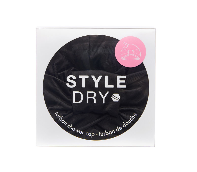 Styledry Turban Shower Cap After Dark