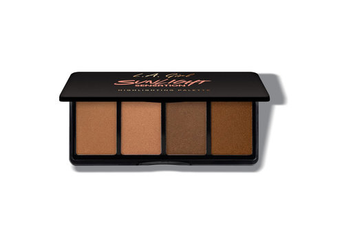LA Girl Fanatic Highlighting Palette Sunlight Sensation