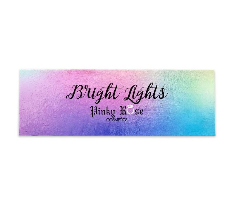 Pinky Rose Cosmetics Bright Lights Eyeshadow Palette