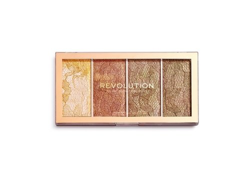 Makeup Revolution Vintage Lace Highlighter Palette