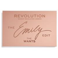 Makeup Revolution x The Emily Edit – The Wants Palette