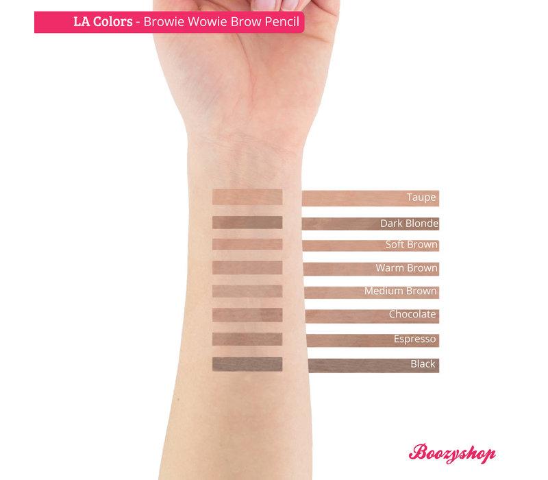 LA Colors Browie Wowie Brow Pencil