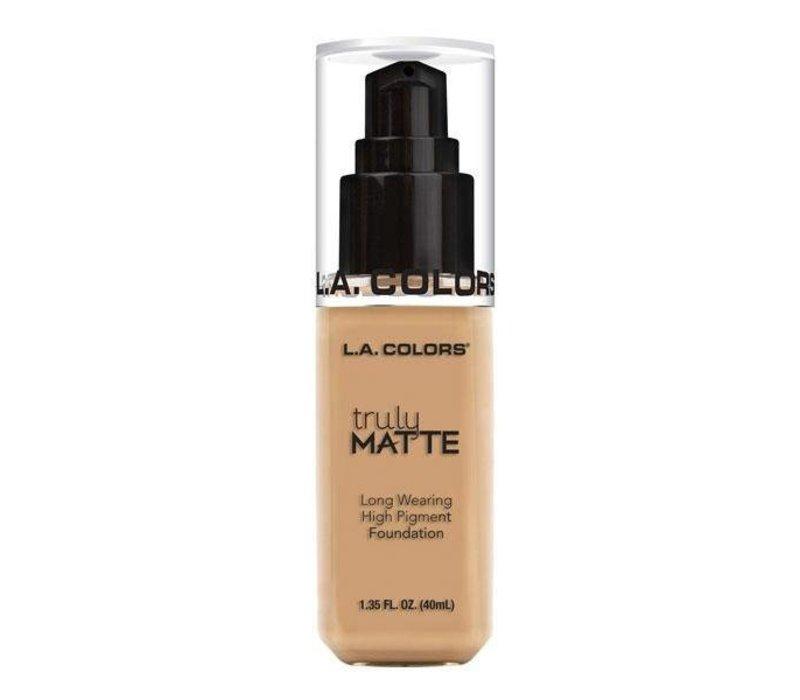 LA Colors Truly Matte Foundation