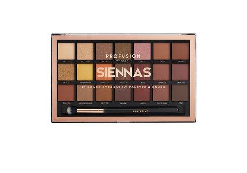 Profusion Siennas 21 Shades Eyeshadow Palette