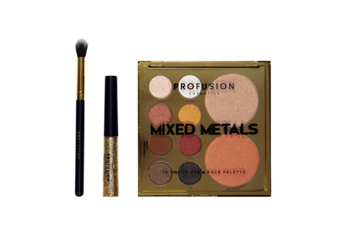 Profusion Mixed Metals Palette Gold