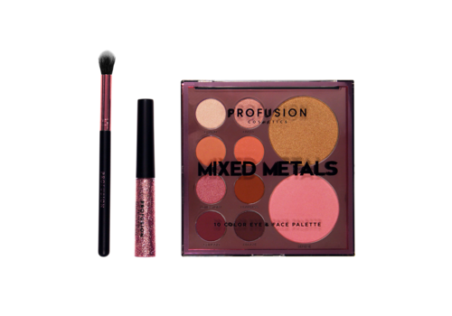 Profusion Mixed Metals Palette Pink