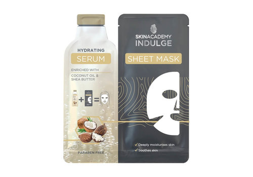 Skin Academy Indulge Hydrating Serum Sheet Mask
