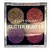 City Color City Color Glitter Quad II Eyeshadow Palette