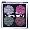 City Color City Color Glitter Quad I Eyeshadow Palette