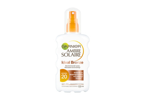 Garnier Skincare Ambre Solaire Ideal Bronze Sun Spray SPF20