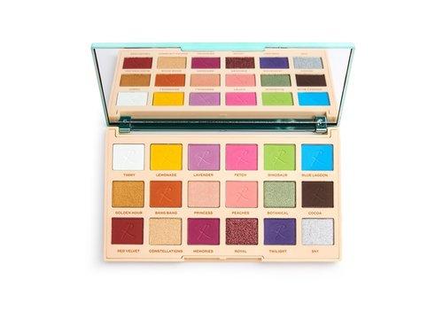 Makeup Revolution x Roxxsaurus Colour Burst Shadow Palette