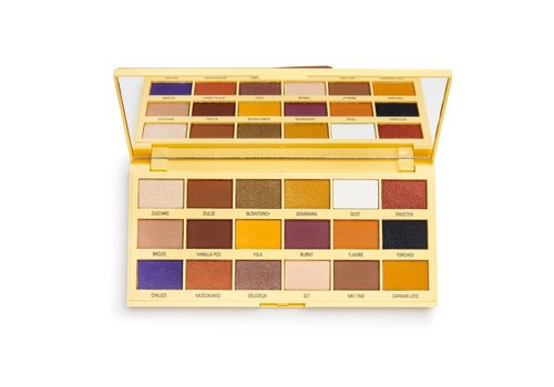 I Heart Revolution Crème Brulee Chocolate Eyeshadow Palette