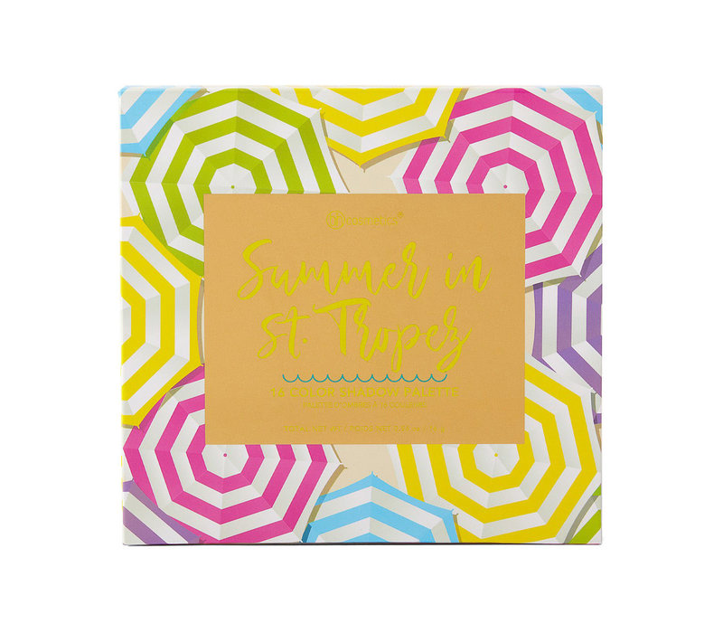BH Cosmetics Summer in St. Tropez Eyeshadow Palette