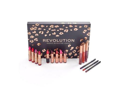 Makeup Revolution Lip Revolution Reds