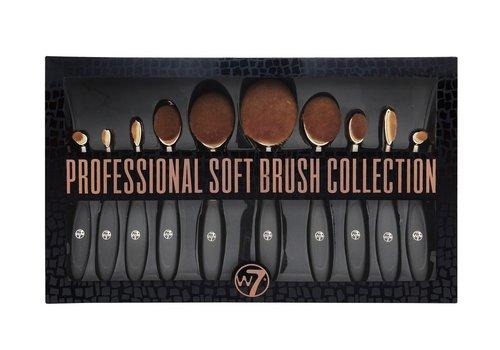 W7 Cosmetics Professional Soft Brush Set 10 pcs