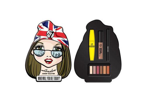 W7 Cosmetics London Girl Tin Make Up Collection
