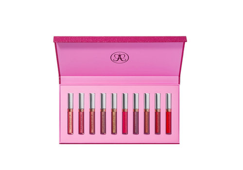 Anastasia Beverly Hills Liquid Lipstick Holiday Set 10 pc