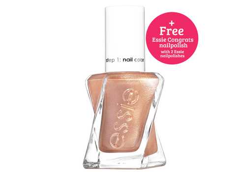 Essie Nail Polish Gel Couture Trilogy Steel The Show