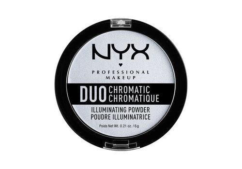 NYX Professional Make Up Duo Chromatic Illuminating Powder Twilight Tint