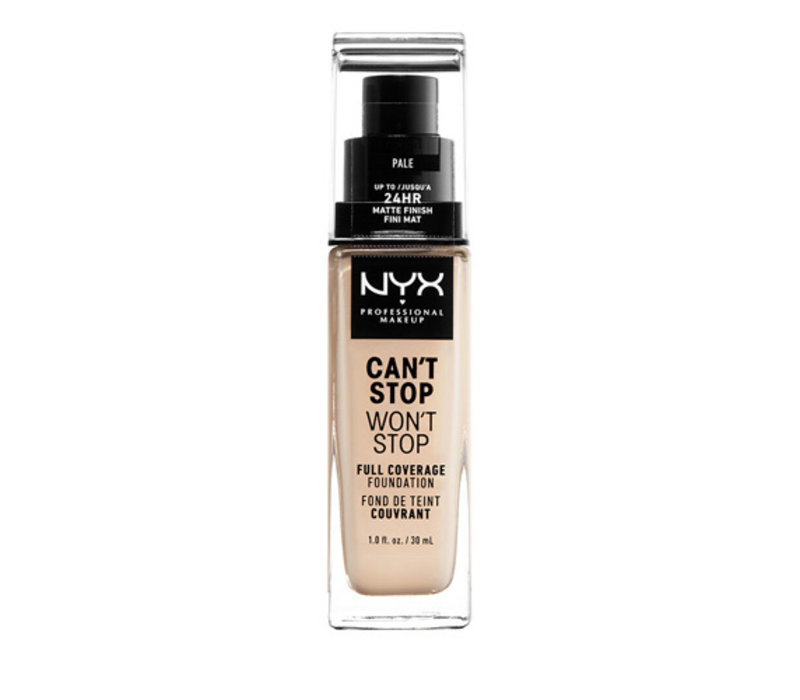 NYX Professional Makeup Can't Stop Won't Stop 24-Hour Foundation