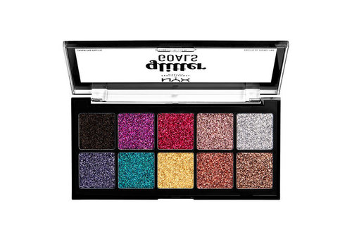NYX Professional Make Up Glitter Goals Cream Pro Palette
