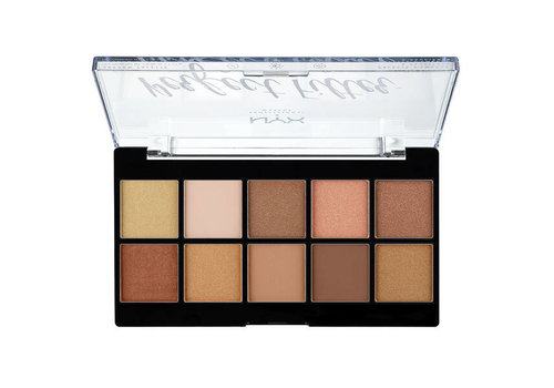 NYX Professional Make Up Perfect Filter Shadow Palette Golden Hour