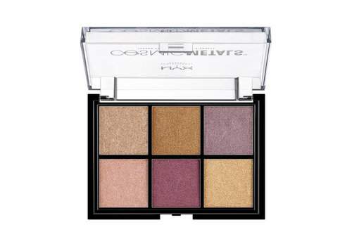 NYX Professional Make Up Cosmic Metal Shadow Palette