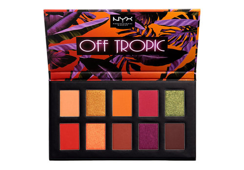 NYX Professional Makeup Off Tropic Shadow Palette Shifting Sand