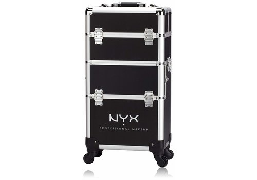 NYX Professional Make Up Makeup Artist Train Case 4 Tier